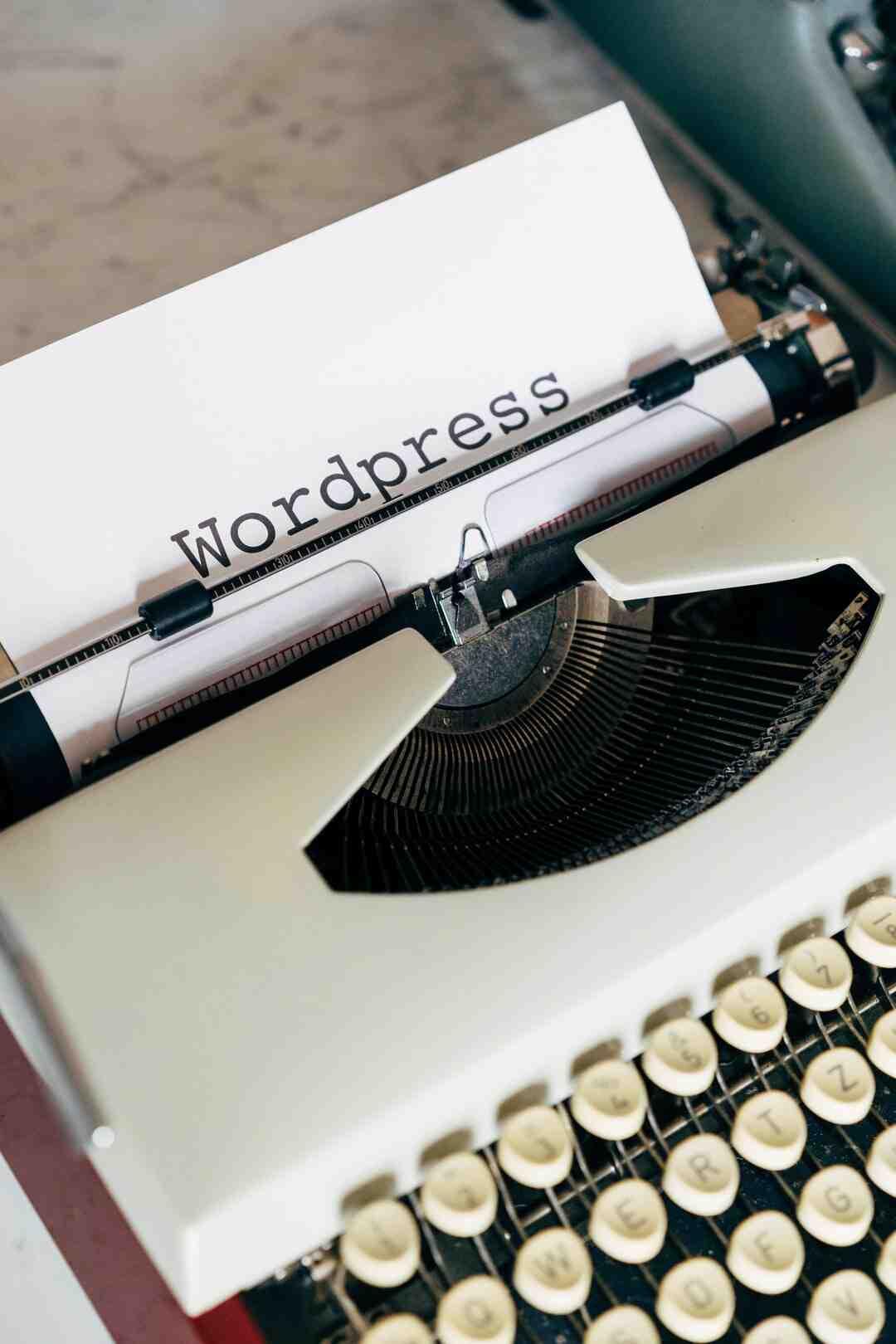 Où sont stockées les pages dans les fichiers du thème WordPress ?
